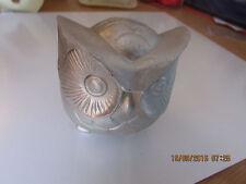 """Owl molde de látex Molde Molde de un búho redondo 4"""" X3"""" X3"""""""