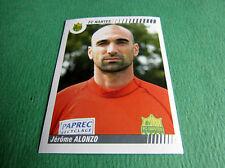 N°318 ALONZO FCN NANTES CANARIS  PANINI FOOT 2009 FOOTBALL 2008-2009