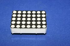 LED DOT MATRIX 35 SEGMENT 5 BY 7 ARRAY RED/GREEN ARDUINO HOBBY ELECTRONIC (10)