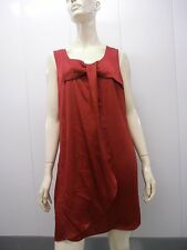 H&m red holiday dress VALENTINES DAY color sexy size 8 rouge frock dress bowtie