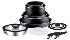 TEFAL L0368042 TEFAL ingenio 13 Piezas Set Cacerola de la salsa Antracita Gris de cocina NUEVO