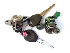 2 Door lock cylinder with 2 keys fits NEW NISSAN ALMERA N16 MK II  2000-2006