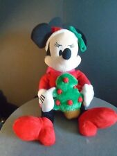 MINI MOUSE-christmas- plush with christmas tree