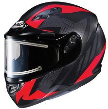 Snowmobile Helmets For Sale >> Hjc Helmets Red Snowmobile Helmets For Sale Ebay