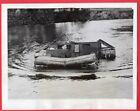 1943 Bren Gun Carrier Swims River School of Military Engineering UK News Photo