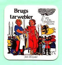 sous-bock BRUGS TARWEBIER bierdeckel coaster bierviltje Lot 1426