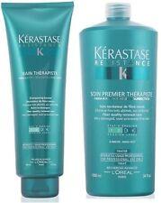 Pack Therapiste 7 : Bain 450ML + Soin Premier 1000ML Kerastase + Free Pump