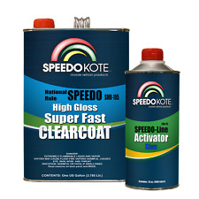Mobile Refinish Clear Coat High Gloss Super Fast Clearcoat Gallon Kit SMR-105/85
