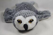 Caltoy Owl Hand Glove Child's Puppet Gray Plush