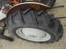 """Ford 8N 9N 2N tractor 28"""" 95% Firestone tread tire & hat rim center hub"""