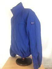 Polo Ralph Lauren Hi Tech Patch Winter Jacket Vintage Blue Fleece Lined XL 92