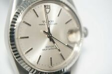 Tudor Prince Oysterdate White Gold Bezel Watch 34mm 75204