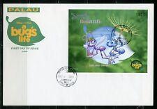 Palau Disney A Bugs'S Life 1998 Souvenir Sheet I First Day Cover