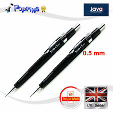 2 X New Genuine Java 0.5mm Jedo Mechanical Pencil For Drafting Office  UK Stock