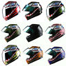 DOT Motorcycle Youth Full Face Helmet Kids Bike Shark Marine Black Blue Red Pink