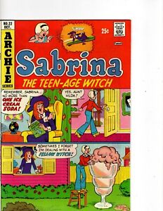 SABRINA THE TEEN-AGE WITCH No 22 with HARVEY, ARCHIE, JUGHEAD and AUNT HILDA