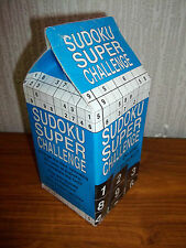 SUDOKU SUPER CHALLENGE - GAME, JIGSAW, PUZZLE - NEW & SEALED