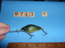 S9713 F Vintage Natural Ike Fishing Lure By Lazy Ike Company