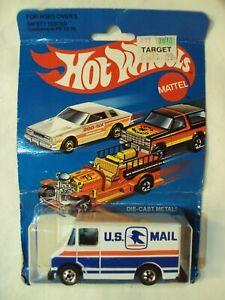 """1981/1976 Hot Wheels #9643 US Mail Van """"LETTER GETTER"""""""