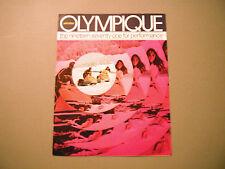1971 Vintage Ski-Doo Olympique Snowmobile Brochure