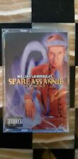 William S. Burroughs Spare Ass Annie Tales Cassette Tape New! Sealed! Rare!