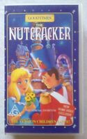 The Nutcracker. VHS Video Tape Animated Cartoon Kids Movie Goodtimes 1995 Rare