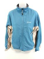 BERGHAUS Womens Jacket Coat 12 Blue Polyester & Nylon