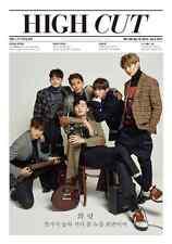 HIGH CUT Vol.188 BTS V SHINee MINHO Park HyungSik Park SeoJun Korean Magazine