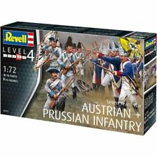 REVELL 2452 7 YEARS WAR AUSTRIAN PRUSSIAN INFANTRY 95 FIGURES 1/72 FREE SHIP