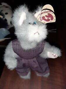 TY Attic Treasures ~ WHISKERS Cat #6012 from 1993 Retired