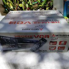 New listing Mitsubishi Vintage Hs-U448 Digital 4 Head/Stereo Vcr