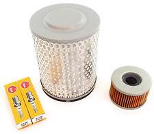 Tune Up Kit - Oil / Air filter + Spark Plugs Honda CM400 CM400A/C/E/T 1979-1981