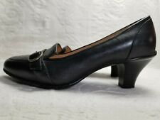 "SoftSpots Genuine Leather Comfort Loafer Heels 3"" Women's Shoe size 7.5"