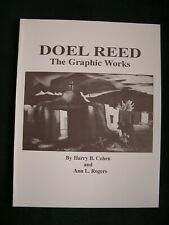 Aquatints DOEL REED THE GRAPHIC WORKS Catalogue Raisonne, signed by cataloger