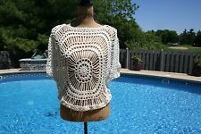 Knitted Swim Suit Cover-up