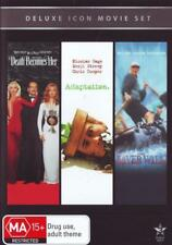 Death Becomes Her / Adaptation / The River Wild (Deluxe Ic  - DVD - NEW Region 4