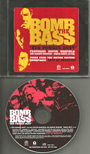 BOMB THE BASS w/ JUSTIN WARFIELD Bug Powder Dust EDIT PROMO CD She wants revenge