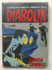 DIABOLIK N° 14 anno XIV Astorina 1975