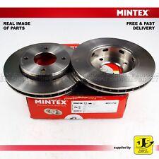 2X Mintex Delantero Frenos De Disco MDC1753 Mitsubishi Colt Smart Forfour 1.1 1.3 1.5