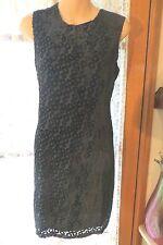 VINTAGE ~ TARGET ~  Silk Blend Black DRESS* Size 12 * REDUCED !!