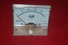 1pc DC 1mA Analog Ammeter Panel Current Meter 85C1 0-1mA DC directly Connect
