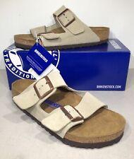 Birkenstock Arizona BS Women's Sz 8 (EU39) Reg Sft Ft Taupe Suede Sandals KB-992