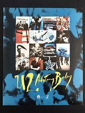 1991 Vintage Print Ad U2 Achtung Baby Music Album Release Rock N Roll