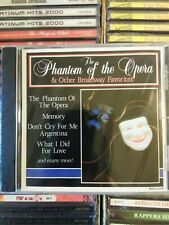 The Phantom Of The Opera & Other Broadway Favorites Various CD 1994 NEW SEALED