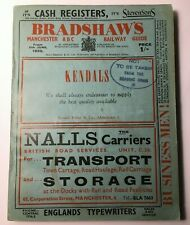More details for bradshaw's manchester abc railway guide 1950