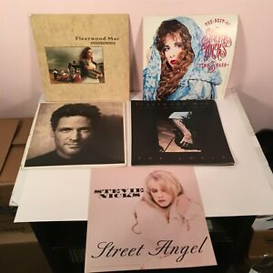 FLEETWOOD MAC / STEVIE NICKS Lot of 22 Promotional FLATS 1980/90s Vintage