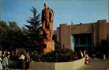 USA postcard California 1956 Domestic Art Building Los Angeles County Fair AK