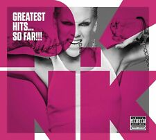 Pink Greatest Hits...So Far CD NEW SEALED Get The Party Started/Just Like A Pill