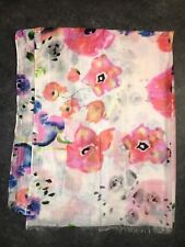 Gorgeous Floral Print Dorothy Perkins Light Scarf Worn Once
