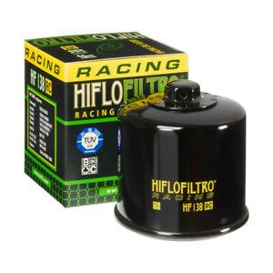 FILTRO OLIO HIFLO HF138 RACING APRILIA RSV RSV4 CAGIVA RAPTOR SUZUKI BURGMAN ...